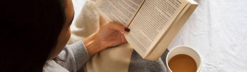 A Taurus reading a book.