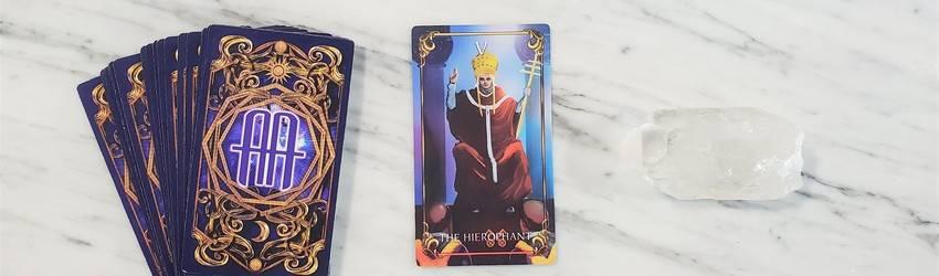 Hierophant-Tarot Card