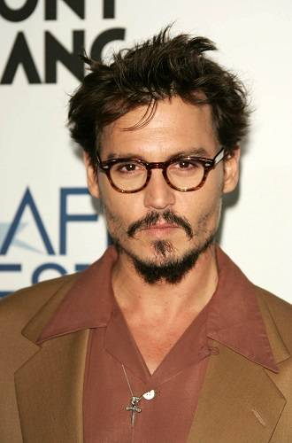 Johnny Depp, Gemini celebrity