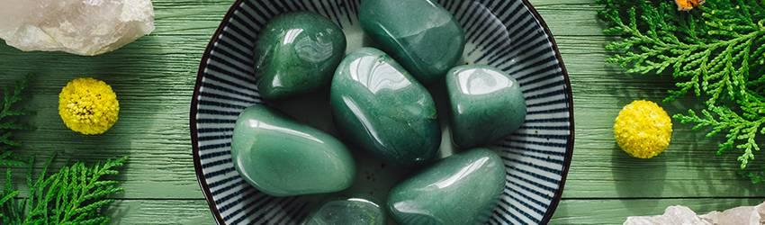Green Aventurine crystal.