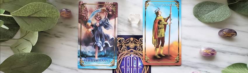 Tarot cards for Sagittarius.