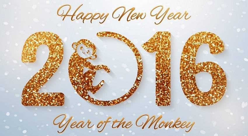 How do you want to get lucky in the Chinese year of the monkey?
