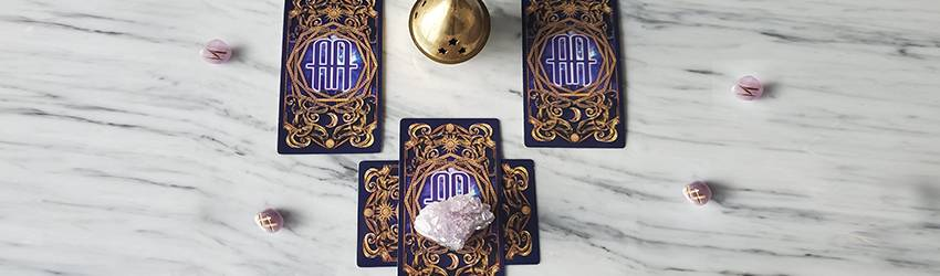 Cancer Moon Lunar Eclipse Tarot Spread with the Astrology Answers Master Deck.