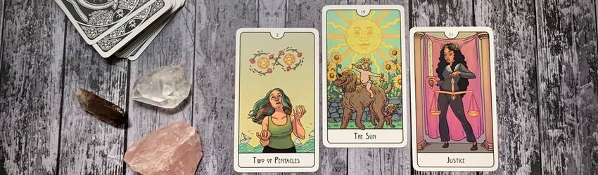 A tarot spread for Chiron Direct from 3am.tarot.