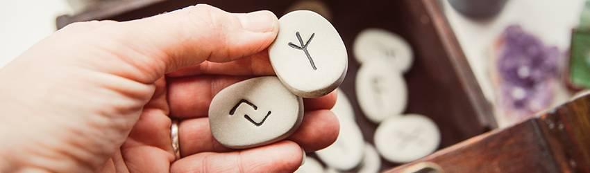 Rune stones for beginners.