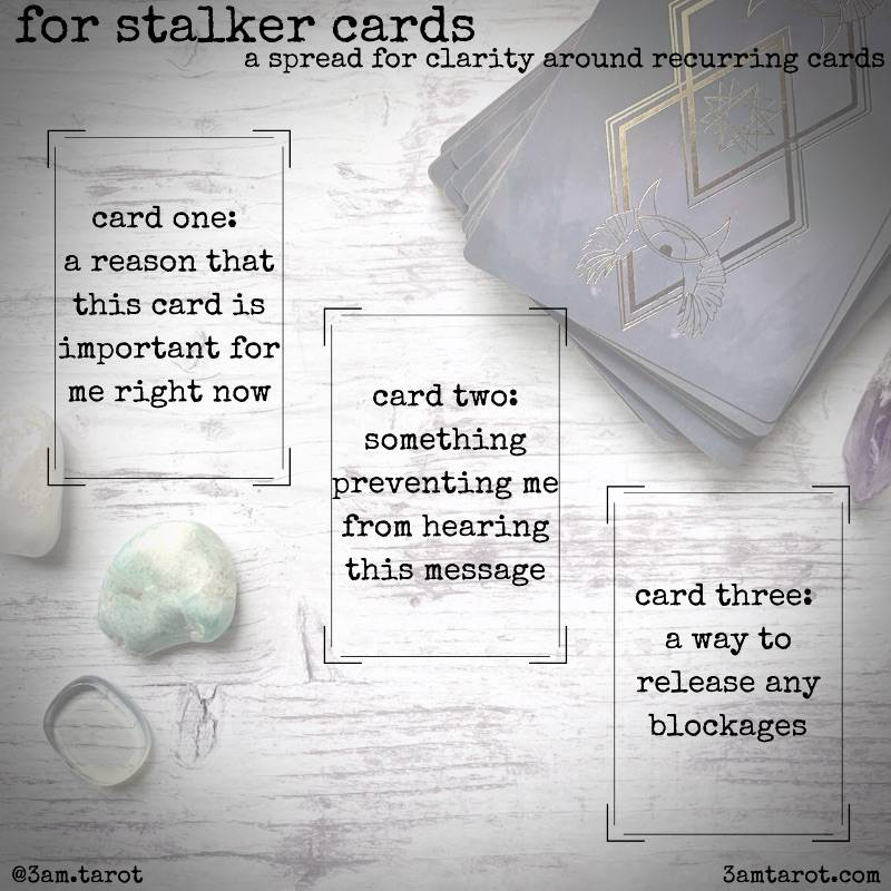 tarot stalker card sample spread image