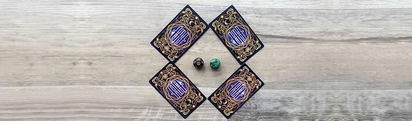 Aries Full Moon Tarot Spread.