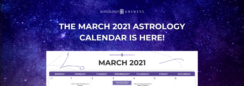 march astrology calendar 2021