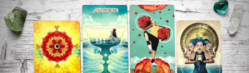 An empath Tarot spread.